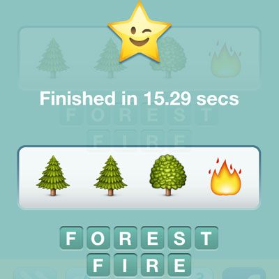 Forest Fire | Emoji Pop Answers | Emoji Pop Cheats