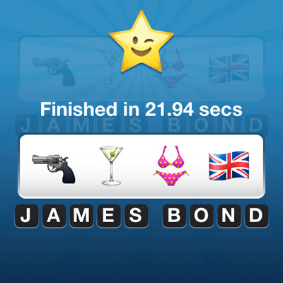 James Bond Emoji