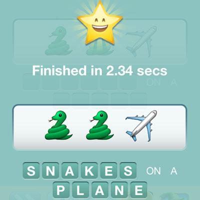 Snakes On A Plane | Emoji Pop Answers | Emoji Pop Cheats
